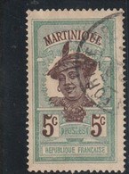MARTINIQUE  Chiffre De La Valeur En Brun  N° 64 Oblitéré - Gebraucht