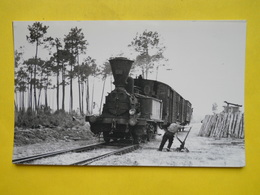 Photo BORDERIE ,gare ,train ,tramway ,aiguilleur Landes - Trains