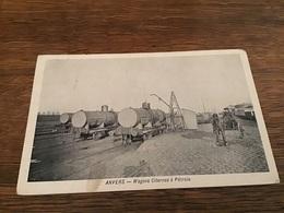 Anvers Antwerpen - Wagons Citernes à Pétrole Attelage - Antwerpen