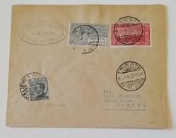 Busta Trieste-Torino Servizio Postale Aereo 01/04/1926 - Correo Aéreo