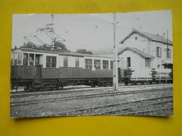 Photo CHAPUIS ,gare ,train ,tramway ,gare De Sirod ,vicinaux Du Juara - Trains