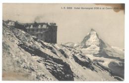Suisse. Hotel Gornergrat Et Cervin (8892) - VS Valais