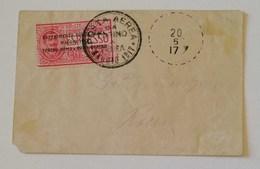 Aerogramma Esperimento Posta Aerea Torino-Roma E Viceversa - 20/05/1917 Primo Giorno - Luchtpost