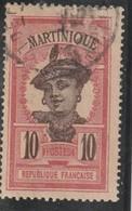 MARTINIQUE Chiffre De La Valeur En Brun  N° 65 Oblitéré - Gebraucht