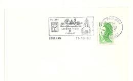 HERAULT - Dépt N° 34 = PAULHAN 1987 =  FLAMME Type II = SECAP Illustrée D'armoiries ' MOYENNE VALLEE' - Marcophilie (Lettres)