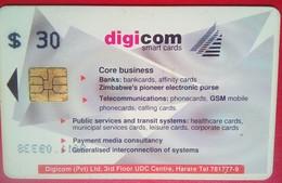 Digicom $30 - Zimbabwe