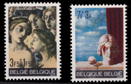 Belgium 1564/65**  Delvaux & Magritte  MNH - Neufs