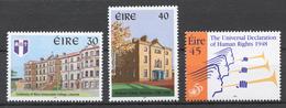 Ireland 1998 Mi# 1096-98** 1998 ANNIVERSARIES - Neufs