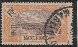 MARTINIQUE  Timbre De 1908-18  N° 96 Oblitéré - Gebraucht