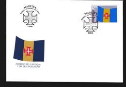 Madeira 1983 FDC Flag (G110-32) - Omslagen