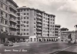 GENOVA - PIAZZA S.ROCCO - AUTO FIAT 600 - 1957 - Genova