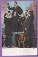 Biere Buveur Tonneau - - Cartes Postales