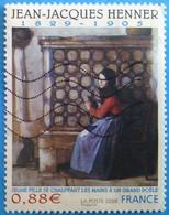 France 2008 : Jean-Jacques Henner, Peintre N° 4286 Oblitéré - Oblitérés