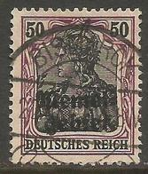 Memel (Klaipeda) - 1920 Germania Overprint 50pf Used   Mi 7  Sc 9 - Gebraucht