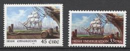 Ireland 1999 Mi# 1133** +USA Mi# 3092** IRISH EMIGRATION - Neufs