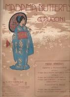 Spartito MADAMA BUTTERFLY Di G. Puccini Finale ATTO II - G. RICORDI & C. - Opéra