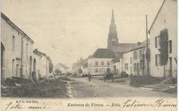 Environs De VIRTON - ETHE - D.V.D. 9148  - Cachet De La Poste 1902 - Virton