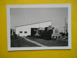 Morcenx ,locomotive Diesel Valermi ,photo 1967 - Trains