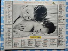 CALENDRIER DU FACTEUR ALMANACH MAMAN PAPA ET BEBE 1998 - Calendriers