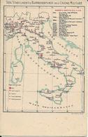 D-SEDI E STABILIMENTI E RAPPRESENTANZE DELL UNIONE MILITARE - Guerra 1914-18