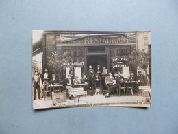 Carte Photo IVRY SUR SEINE  -  94  -  Restaurant DELAGNEAU  -  7 Place Nationale  -  Val De Marne - Ivry Sur Seine