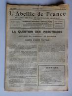 L'ABEILLE DE FRANCE N°304 Janv 1951 Apiculture Insecticide,Cristalisation, Hydromel, 14è Congrès,Nourrisseur, Ruche,Miel - 1900 - 1949
