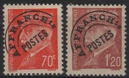 PREO 43 - FRANCE Préoblitéré N° 84/85 Neufs* - 1893-1947
