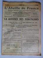 L'ABEILLE DE FRANCE N°306 Mars 1951 Apiculture,Insecticide,Cas De Loque,Essaim,Ruches,Cire,Hydromel... - 1900 - 1949