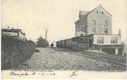MARLOIE : Hotel Lambert - Arrêt Du Tram - RARE CPA - Cachet De La Poste 1904 - Marche-en-Famenne
