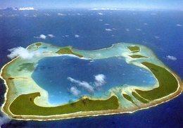 Polynésie Française : Tetiaroa Vue Aérienne De L'atoll (ayant Appartenu à Marlon Brando) - Cartes Postales