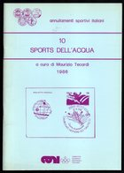 ITALIA 1986 - MAURIZIO TECARDI: ANNULLAMENTI SPORTIVI ITALIANI - SPORTS DELL'ACQUA - CANOEING / ROWING / SAILING / SURF - Autres