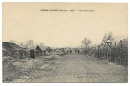 51-SOMME-TOURBE-Rue Saint-Jean En 1920...  Animé - Autres Communes