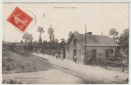- Quettreville : La Gare. - Autres Communes
