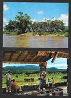 2 POSTCARD KENYA - TSAVI SAFARI - KILAGUNI LODGE - Kenya