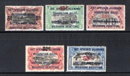 RUANDA URUNDI 45/49 MNH 1922 - Opdrukken Van Mechelen - 1916-22: Mint/hinged