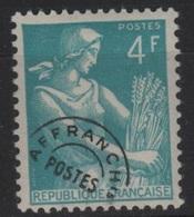 PREO 53 - FRANCE Préoblitéré N° 106 Neuf* - 1953-1960