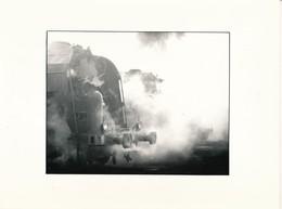 J69 - PHOTOGRAPHIE - Hommage à La Vapeur De Claude Vadam - Machine à Vapeur - Trains