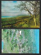 TANZANIA 2 POST CARD LAKE MANYARA - SERENGETI NATIONAL PARK - Tanzanía