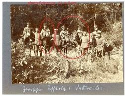 RP - Photo -Esel Maultier  Wattweiler Vogesen Les Vosges Soldats Allemnde  WWI WWI  - Photo Allemande    1914-1918 - France