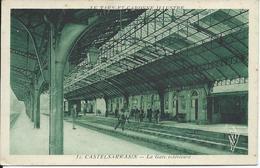 [82] Tarn Et Garonne > Castelsarrasin La Gare Interieure Rare - Castelsarrasin