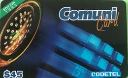 DOMINICAINE  -  Prepaid  - ComuniCard - Codetel  - Edicion 1995 - $45 - Dominicaine