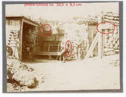 RP - Photo - Graben Stellung Rechter Flügel Wattweiler Uffholz Sennheim Cerny    WWI WWI  - Photo Allemande    1914-1918 - France