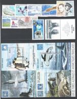 TAAF 2001 12 Emissioni / Issues **/MNH VF - Französische Süd- Und Antarktisgebiete (TAAF)