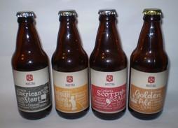 ® URUGUAY - Cerveza Artesanal MASTRA 4 Botellas Diferentes - Cerveza