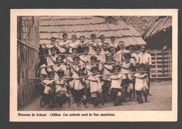 Celebes - Ces Enfants Sont De Fins Musiciens - Missions De Scheut - Indonesia