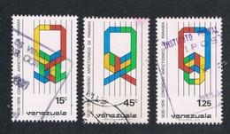 Venezuela 1148-50 Used Unity CV .95 (V0274) - Venezuela