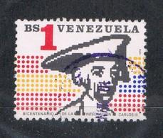 Venezuela 1186 Used Goya Carlos III (V0408) - Venezuela