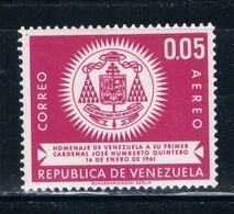 Venezuela C785 MNH Arms Of Cardinal Quintero (V0483)+ - Venezuela