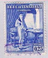 Venezuela 353 Used Mendoza 1953 (BP30719) - Venezuela