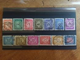 REPUBBLICA - Segnatasse Ruota Nn. 97/110 Timbrati + Spese Postali - 6. 1946-.. Republic